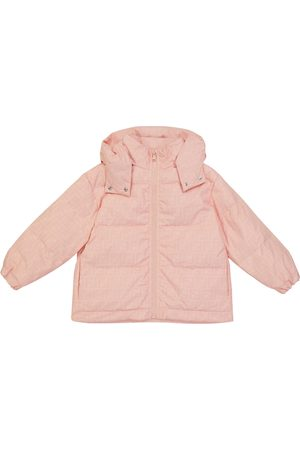 Fendi FF quilted puffer jacket