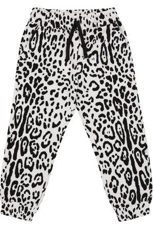 Dolce & Gabbana Cotton-blend fleece sweatpants