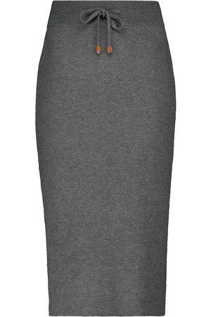 Burberry Cashmere-blend midi skirt