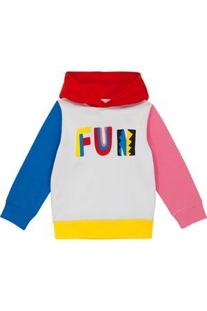 Stella McCartney Printed cotton-jersey hoodie