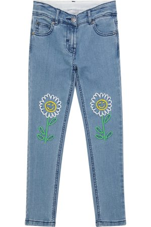 Stella McCartney Floral embroidered jeans