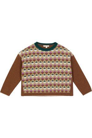 Caramel Jeon Fairisle knit sweater