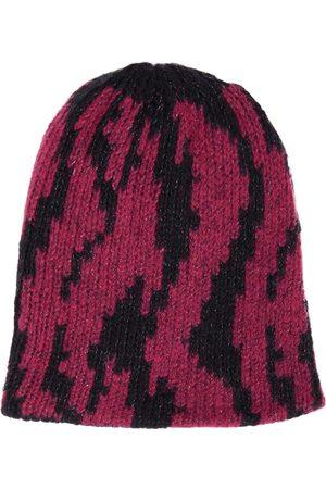 PAADE Intarsia merino wool-blend beanie