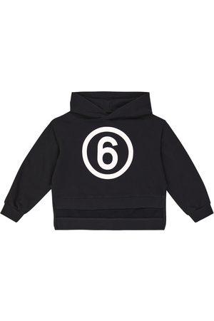 MM6 Maison Margiela Kids Logo cotton hoodie