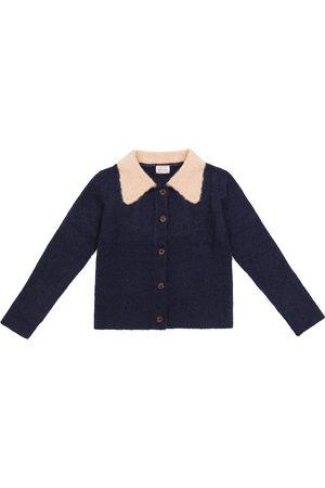 Morley Octavia Lama wool-blend cardigan