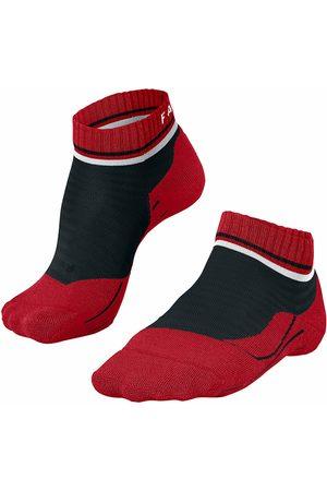 FALKE Dames Sokken - RU4 halfhoog GoOn dames zwart & rood