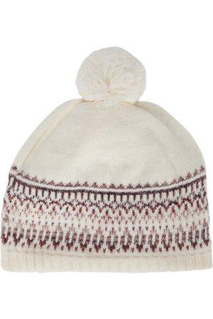 PAADE Intarsia wool-blend beanie