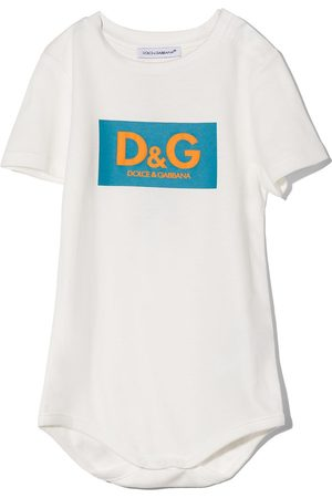 Dolce & Gabbana Kids Logo-print bodysuit