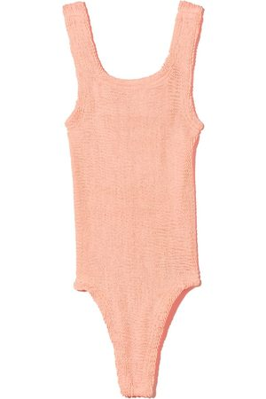 Hunza G Kids Meisjes Badpakken - Classic seersucker swimsuit