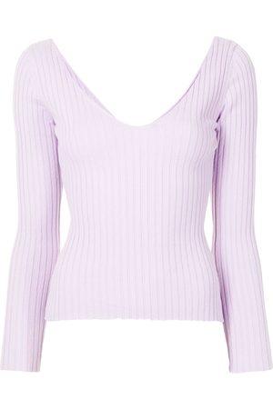 Anna Quan Elsa ribbed-knit cotton jumper