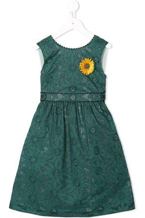 Familiar Meisjes Feestjurken - Sunflower flared dress