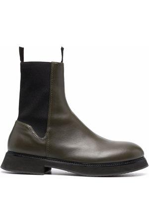 Nina Ricci Leather Chelsea boots