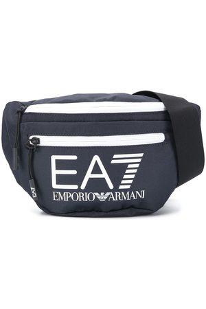 Ea7 Emporio Armani Printed logo belt bag