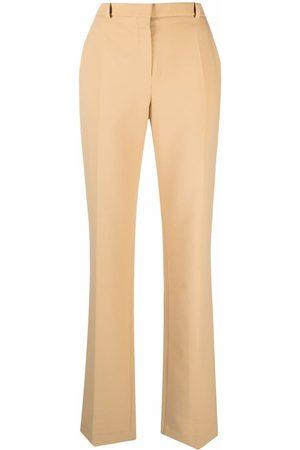 Nina Ricci Mid-rise straight-leg trousers