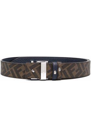 Fendi Reversible logo-buckle belt