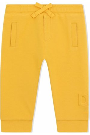 Dolce & Gabbana Kids Logo-embossed track pants
