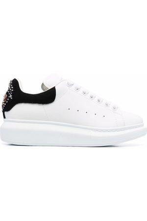 Alexander McQueen Oversized sole embellished sneakers