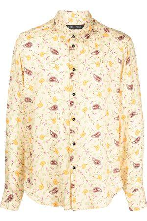 Comme des Garçons Paisley-print longsleeved shirt