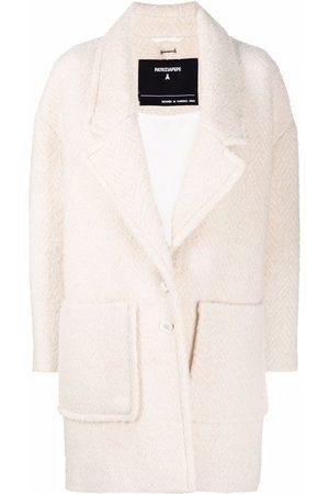 Patrizia Pepe Single-breasted bouclé coat