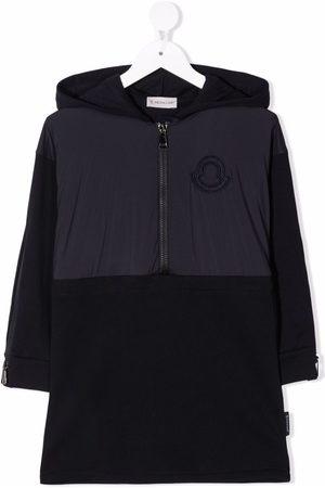 Moncler Enfant Meisjes Casual jurken - Zip-up hooded dress