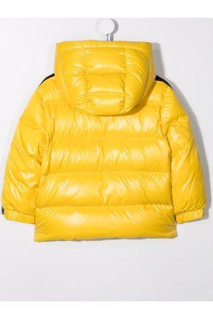 Moncler Logo patch padded coat