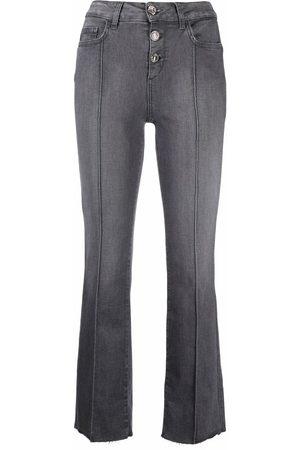 LIU JO High-waist cropped jeans