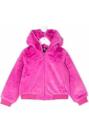 apparis kids Zipped hooded jacket