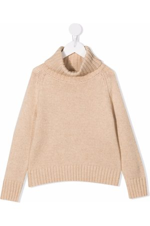 Longlivethequeen Roll-neck knitted jumper
