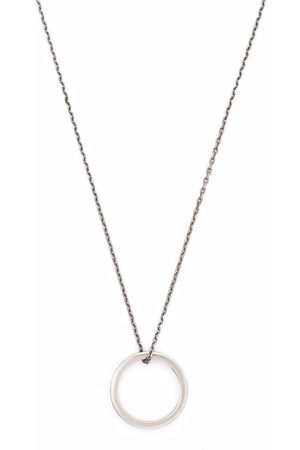 Maison Margiela Ring pendant necklace
