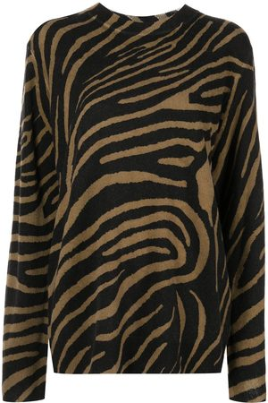 Equipment Robinne zebra-print jumper