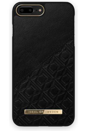 IDEAL OF SWEDEN Atelier Case iPhone 8 Plus Embossed Black
