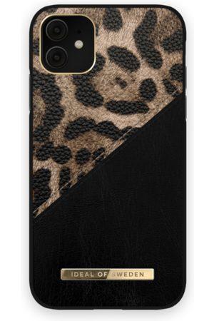 IDEAL OF SWEDEN Telefoon hoesjes - Atelier Case iPhone 11 Midnight Leopard