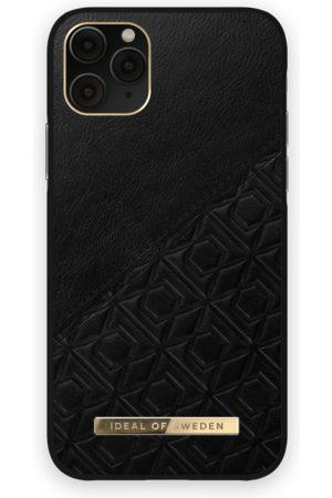 IDEAL OF SWEDEN Telefoon hoesjes - Atelier Case iPhone 11 Pro Embossed Black