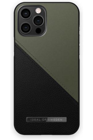 IDEAL OF SWEDEN Atelier Case iPhone 12 Pro Max Onyx Black Khaki