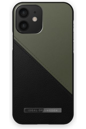 IDEAL OF SWEDEN Telefoon hoesjes - Atelier Case iPhone 12 Onyx Black Khaki