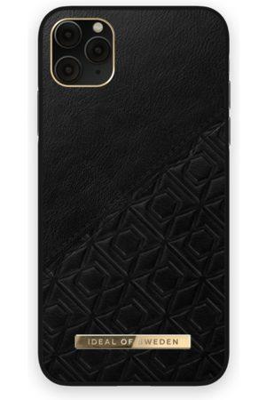 IDEAL OF SWEDEN Telefoon hoesjes - Atelier Case iPhone 11 Pro Max Embossed Black