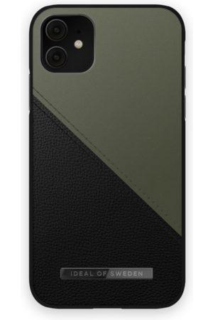 IDEAL OF SWEDEN Telefoon hoesjes - Atelier Case iPhone 11 Onyx Black Khaki