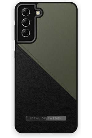 IDEAL OF SWEDEN Atelier Case Galaxy S21 Plus Onyx Black Khaki