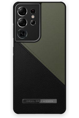 IDEAL OF SWEDEN Telefoon hoesjes - Atelier Case Galaxy S21 Ultra Onyx Black Khaki