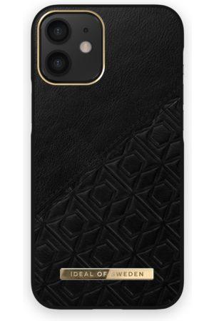 IDEAL OF SWEDEN Atelier Case iPhone 12 Mini Embossed Black