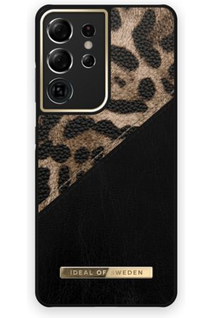 IDEAL OF SWEDEN Atelier Case Galaxy S21 Ultra Midnight Leopard