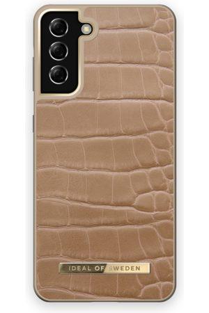 IDEAL OF SWEDEN Telefoon hoesjes - Atelier Case Galaxy S21 Plus Camel Croco