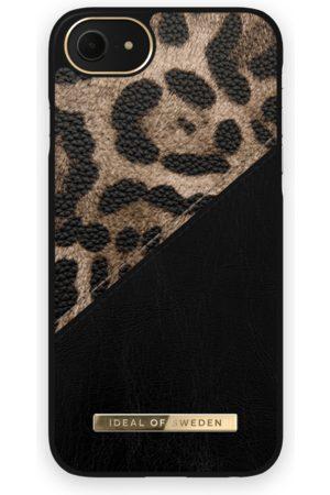IDEAL OF SWEDEN Telefoon hoesjes - Atelier Case iPhone 8 Midnight Leopard