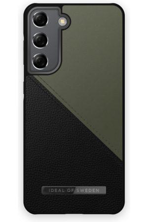 IDEAL OF SWEDEN Telefoon hoesjes - Atelier Case Galaxy S21 Onyx Black Khaki