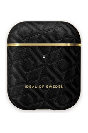 IDEAL OF SWEDEN Atelier AirPods Case Embossed Black