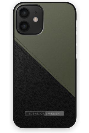 IDEAL OF SWEDEN Telefoon hoesjes - Atelier Case iPhone 12 Mini Onyx Black Khaki