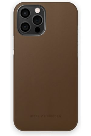 IDEAL OF SWEDEN Telefoon hoesjes - Atelier Case iPhone 12 Pro Max Intense Brown