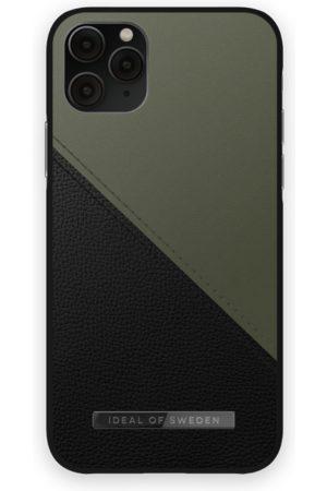 IDEAL OF SWEDEN Telefoon hoesjes - Atelier Case iPhone 11 Pro Onyx Black Khaki