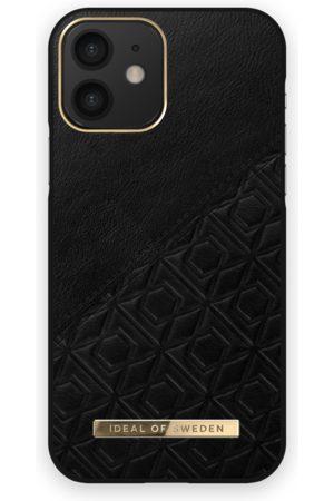IDEAL OF SWEDEN Atelier Case iPhone 12 Embossed Black