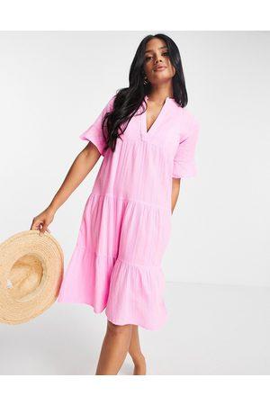 Accessorize Trapeze dress in pink